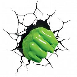 Philips Disney 3D svetlo Hulk Fist - Avengers
