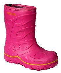 PIDILIDI Dievčenské zateplené gumáky- ružové, EUR 23
