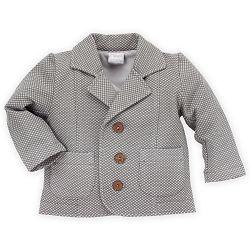 Pinokio Chlapčenský kabátik - sivý, 68 cm