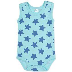 Pinokio Detské body s hviezdičkami - svetlo modré, 62 cm
