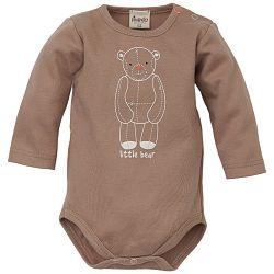 Pinokio Detské body s medvedíkom - hnedé, 68 cm
