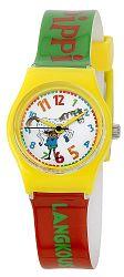 Pippi Dievčenské hodinky Pipi dlhá pančucha