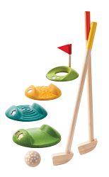 Plan Toys Mini golf (celá súprava)