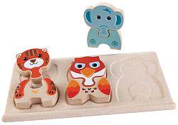 Plan Toys Puzzle - zvieratká