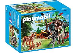 Playmobil 5561 Rysia rodina s filmárom