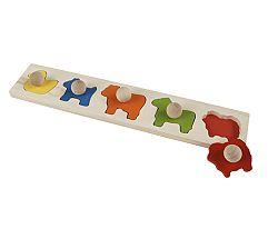 Primi Passi Puzzle so zvieratkami pre najmenších