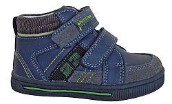 Protetika Chlapčenské kožené členkové topánky Drako - tmavo modré, EUR 25