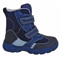 34258f0c3717 Protetika Chlapčenské zimné topánky Bolzano - modré