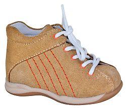 Protetika Detské kožené členkové topánočky Baby - béžové, EUR 17