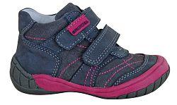Protetika Dievčenské kožené členkové topánky Adora - šedé, EUR 26