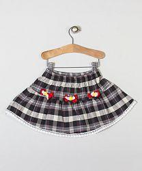 Puffy Pie Dievčenská flanelová sukienka s kvetinkami, 92 cm