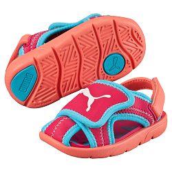 Puma Dievčenské sandále Summer Sandal - ružové, EUR 29