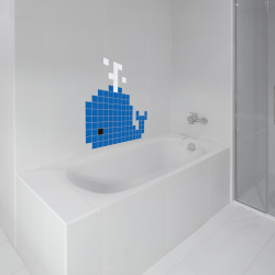 Puzzlove Dekoratívne samolepiace puzzle Veľryba