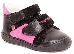 RAK Dievčenské členkové tenisky Agáta - ružovo-čierne, EUR 25