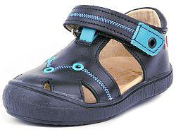 Disney by Arnetta Chlapčenské sandále ANGRY BIRDS-modré fe420d2fea