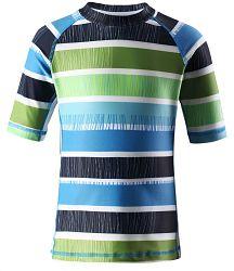 Reima Chlapčenské plavecké tričko Fiji s UV 50+ - modré, 110 cm