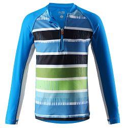 Reima Chlapčenské plavecké tričko Solomon s UV 50+ - modré, 110 cm