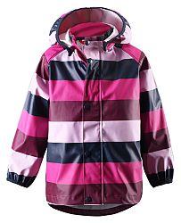 Reima Dievčenské nepremokavá bunda Kupla - ružová, 122 cm
