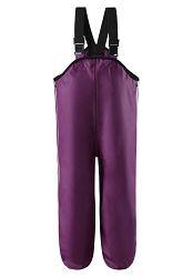 Reima Dievčenské nepremokavé nohavice Lammikko - vínové, 116 cm