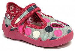 Ren But Dievčenské bodkované papučky - farebné, EUR 21