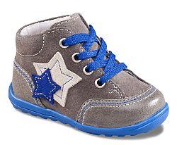 Richter Chlapčenské capáčky s hviezdičkami - šedo-modré, EUR 17