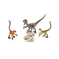 Schleich Hracia súprava s prehistorickými predátormi a lebkou T-Rexa
