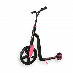 Scoot and Ride Highwaygangster Black / Pink / Blue