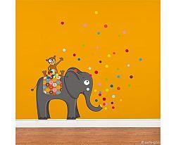 Série-Golo Samolepiaca dekorácia - Je tu párty