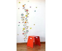 Série-Golo Samolepiaca dekorácia - Kvetinový tanec