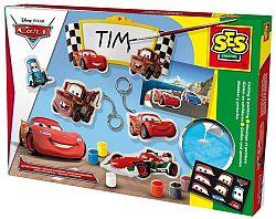 SES Odlievanie a maľovanie - Disney Cars