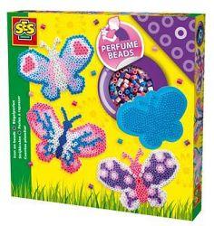 SES Zažehľovacie korálky voňavé - motýľ