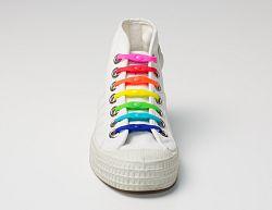 Shoeps Šnúrky farebné