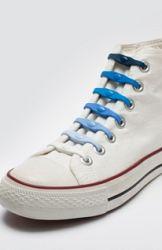 Shoeps Šnúrky mix modré