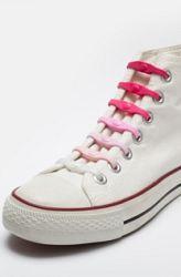 Shoeps Šnúrky mix ružové