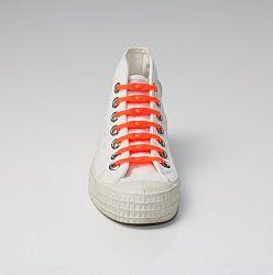 Shoeps Šnúrky oranžové