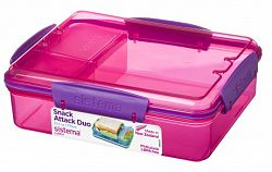Sistema Box na desiatu / obed, 975 ml - ružový
