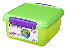 Sistema Box na obed, 1,2 l - zelený