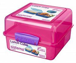 Sistema Box na obed, 1,4 l - ružový