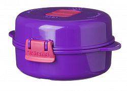 Sistema Box na prípravu vajec v mikrovlnej rúre, 271 ml - fialový
