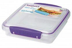Sistema Box na sendvič, 450 ml - fialový