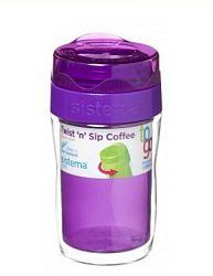 Sistema Hrnček na kávu (malý), 315 ml - fialový