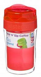Sistema Hrnček na kávu (malý), 315 ml - oranžový