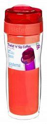 Sistema Hrnček na kávu (veľký), 490 ml - oranžový