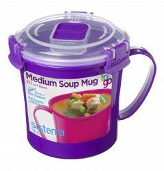 Sistema Hrnček na polievku, 656 ml - fialový