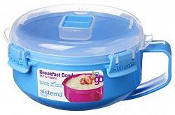 Sistema Miska na raňajky, 850 ml - modrá