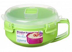 Sistema Miska na raňajky, 850 ml - zelená