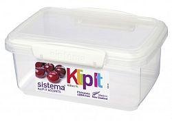 Sistema Skladovací box na potraviny, 1 l - biely