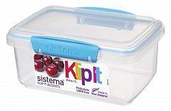 Sistema Skladovací box na potraviny, 1 l - modrý