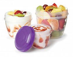 Sistema Tégliky na jogurt a ovocie - farebné