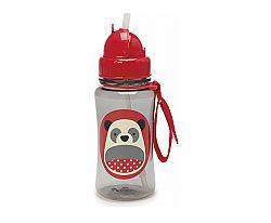 SKIP HOP Zoo fľaštička so slamkou -panda